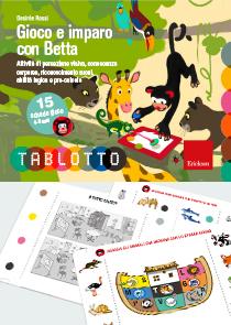 ERICKSON GIOCO E IMPARO CON BETTA - SCHEDE TABLOTTO 4-6
