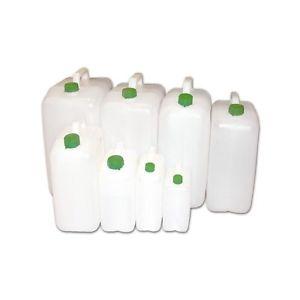TANICA BIDONE PLASTICA PER ALIMENTI ACQUA VINO OLIO LT. 5-10-15-20-30 CONTENITORE