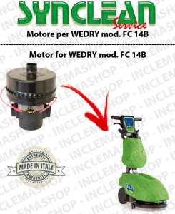 FC 14B Vacuum motor SYN for scrubber dryer WEDRY