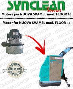 FLOOR 43 Vacuum motor SYNCLEAN for scrubber dryer NEW! SVAMEL