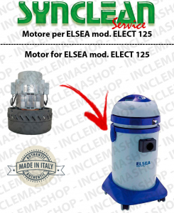 ELECT 125  Ametek Vacuum Motor for vacuum cleaner ELSEA