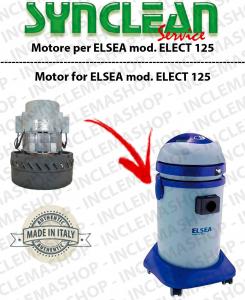 ELECT 125  motor de aspiración AMETEK para aspiradora ELSEA
