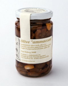 "OLIVE ""AMMACCATE"""