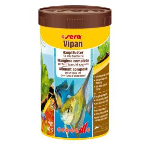 Mangime Pesci Sera Vipan Scaglie 250 ml