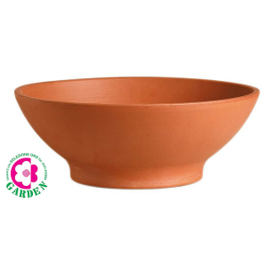 Ciotola in terracotta Giardinetto Cm 36 H 14,6