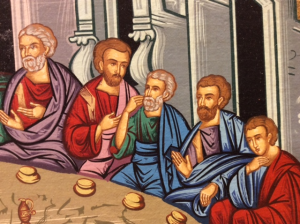 Icona serigrafata Ultima Cena 41x31 cm