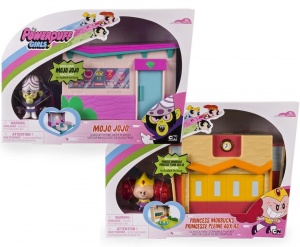 BAMBOLA POWERPUFF GIRLS MINI ACTION PLAYSET 6028020 SPINMASTER