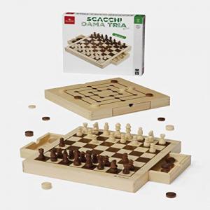 SCACCHI DAMA TRIA BASIC 53907 DAL NEGRO