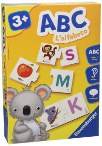 ABC - L.ALFABETO 24103 RAVENSBURGER