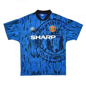 1992-93 Manchester United Maglia Away M (Top)
