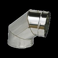 CURVA 90° M/F PERCANNE FUMARIE DIAMETRI mm 80/100/120/130/150/200/250
