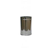 TUBI PERCANNE FUMARIE DIAMETRI mm 80/100/120/130/150/200/250 cm 25