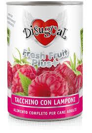 Disugual fresh fruit tacchino e lamponi
