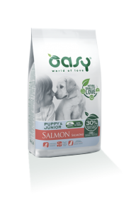 OASY DOG PUPPY SALMONE ALL BREEDS 2.5 KG