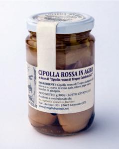 Cipolla rossa di Tropea in agrodolce per antipasti, contorni e bolliti