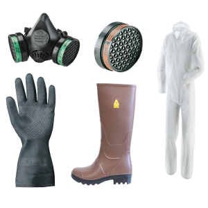 Kit protezione per armadio Fitofarmaci media protezione