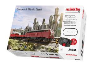 MAERKLIN CONFEZIONE DI AVVIO DIGITAL TRENO MERCI EPOCA V 230 VOLT cod. 29060