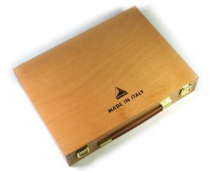 Cassetta in legno di Faggio di colori acrilici Maimeri Polycolor