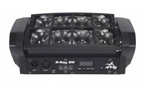 EFFETTO SAGITTER PROEL B RAY MINI 8X3W LED RGBW