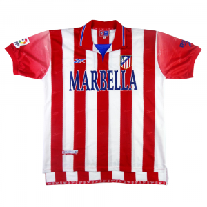 1998-99 Atletico Madrid Maglia Home XL (Top)