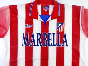 1998-99 Atletico Madrid Maglia Home XL (Top)