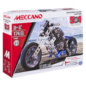 MECCANO MOTOCICLETTA 5-IN-1 17202/6036044