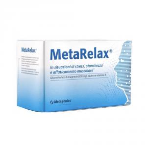 METARELAX 180 COMPRESSE - INTEGRATORE DI MAGNESIO IN CASO DI STANCHEZZA