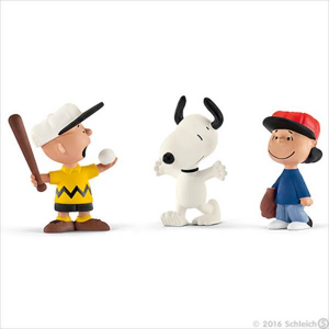 SCHLEICH PEANUTS SCENARY PACK BASEBALL 22043