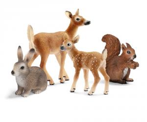 SCHLEICH WILD LIFE SET ANIMALI DELLA FORESTA 14795