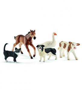 SCHLEICH FARM LIFE ANIMALI ASSORTITI DELLA FATTORIA 42386
