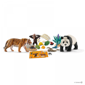 SCHLEICH CALENDARIO DELL'AVVENTO DEL SAFARI 97433