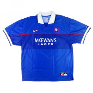 1997-99 Rangers Maglia Home L (Top)