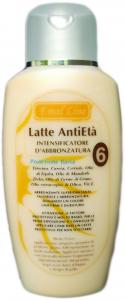Latte Antietà SPF6 Intensificatore d'Abbronzatura Tirosina e Betacarotene