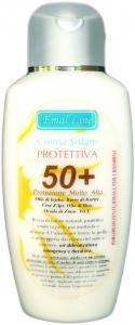 Crema Solare SPF50+ Idroresistente Protezione Molto Alta 200 ml