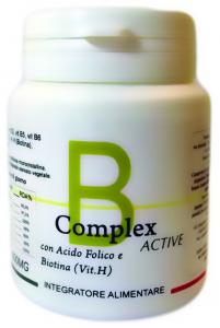 B-Complex Active - Complesso di Vitamine B - 50 compresse