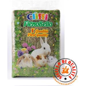 Fieno Bello per Conigli Cliffi 1°qualità Chemi Vit  kg.1