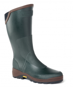 S31 BOOTS  TANZANIA P.   -   Hunting  Rubber boots   -   Dark Green