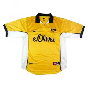 1998-00 Borussia Dortmund Maglia Home L (Top)