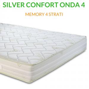 Materasso Memory Multionda Ortopedico H25 | Silver Confort Onda 4 |Prezzi a partire da