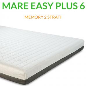 Materasso Memory Ortopedico a 7 zone 6cm H18 | Mare Easy Plus 6 |Prezzi a partire da