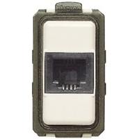 Connettore telefonico RJ11 - connessione a morsetto BTicino 5982 Magic