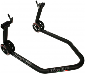 CAVALLETTO MOTO POSTERIORE BIKE LIFT EUROPE BLACK ICE