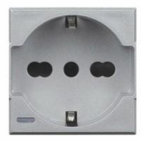 Presa schuko - tech BTicino HC4140/16 Axolute