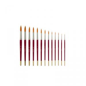 Pennello serie in pelo sintetico a punta tonda