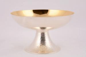 Pisside patena in metallo argentato MOLACE2777