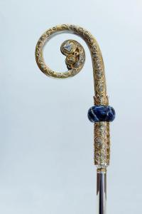 Pastorale tutto in argento con nodo sodalite MDA800