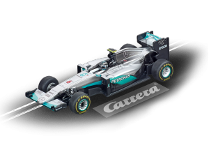 CARRERA GO! MERCEDES F1 W07 HYBRID N. ROSBERG, No. 6 cod. 20064086