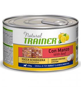 Natural Trainer Adult Small & Toy con Manzo 150 g