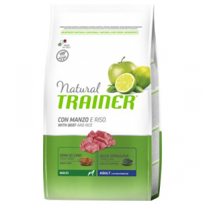 Natural Trainer Maxi Adult Manzo 3 Kg
