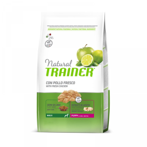 Natural Trainer Puppy (da 1 a 8 mesi)  Maxi con Pollo 3 kg